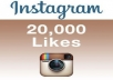 provide 20,000 instagrm likes, fast, real and safe permanent