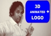 Hello, call me the Pro. I am a professional logo designer.   I will design a stunning 3d animated logo for you.  Three  3-D animated logos in mp4 format   Check out my samples here. http://bit.ly/3danimatedlogos  from the above samples choose the logo number/s.  Give me the number/s of your choice, your  brand name, text to be mentioned, tag line or website address,  etc.  ### contact me first before ordering to avoid delays.  These 3d animated logos can be used for Facebook marketing, Instagram promotions,  WhatsApp marketing, youtube intros etc. it provides a professional touch to your brand, product, service So order the gig now and take your business to the next level.  THE PRO