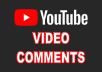 Provide 50+ YouTube video Auto comments
