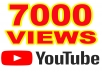 Give you 7.000 Youtube Views