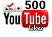 Provide 500 You Tube likes