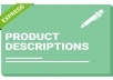 write excellent product descriptions