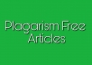 Write an article for you in 24hrs