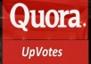Promote 100 high quality profile Worldwide Quora upvotes your answer