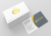 Design TOPNOTCH Professional Business card for you