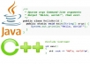 hi  I will do your projects related to programming in c++,java