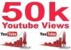 provide you high quality 50,000+ YouTube Video views
