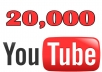 Boost your YouTube Video with 20,000+ HR views Adsense Safe