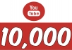 Add 10,000 YOUTUBE FAST VIEWS