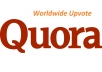 give 100 High Quality Worldwide Quora UpVotes