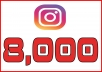 Give You Instant 8.000 + Instagram Followers