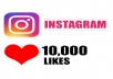 I will do 10,000 Instagram Photo Likes, 100% non drop.