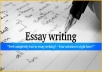 write a 300 word essay on a topic of your choosing