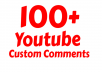 add 20+30  Instant Youtube Custom Comments