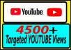 do 4500+ YOUTUBE TARGETED COUNTRY VIEW