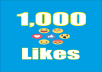 Provide you 1,000 Facebook Emoticons Photo/Post Likes