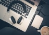 transcribe five minutes of audio within 24 hours for $10