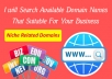Search Available Domain That Suitable For Your Business