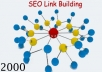 Create 2000+ quality backlink PR1 to PR5 sites