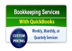 Do Book Keeping in Quick Books