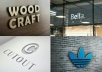 give you 15 photorealistic 3d logo mockups for your business