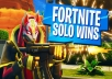 win fortnite solo mode in your profile