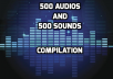 give you 1000 no copyright sounds and audios