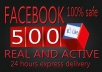 Promote Facebook Page Like  500 Real And Active