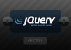 enhance your homepage look with interactive and flashy content like jQuery, image sliders, flash etc