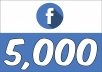 Add 5,000+ Facebook (Fan Page) Followers