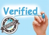 forward Your Twitter Account to Verification Department