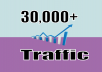 Generate 30,000+ Web Traffic For Your Site