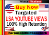 provide 1000 USA youtube views, safe, and permanent