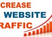 Amazing gig! I will drive 15000 real Human Traffic to your website or blog. Traffic will start within 12 to 18 hours after the purchase. Exclusively on gigbucks