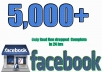 I Can Provide You 5,000+ Facebook Likes at CHEAPEST PRICE & Life Time Guaranteed ✅  *FB Likes service will be worldwide.  *No bot, software, Black Hat Techniques will be used  *All this from original and verified accounts  *Not a single will drop  *100% money back / Replacement if drop out  *Delivery in no time  *100% Satisfaction Guaranteed