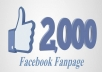 I Can Provide You 2,000+ Facebook Likes at CHEAPEST PRICE & Life Time Guaranteed ✅  *FB Likes service will be worldwide.  *No bot, software, Black Hat Techniques will be used  *All this from original and verified accounts  *Not a single will drop  *100% money back / Replacement if drop out  *Delivery in no time  *100% Satisfaction Guaranteed
