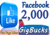 We will add 2,000+ likes for your Fan Page using Real Facebook Likes method. All likes are from real facebook users, not from fake accounts. You can check it yourself easily. Our service is legit and Safe.  Provide me your facebook page and you will see how your page will become very active.       (✔)   100% Safe      (✔)   Instant Start      (✔)   Permanent Likes      (✔)   Non-Drop ( 98% Likes will Stay Permanent )      (✔)   Improve visibility  ✔✔ORDER NOW ✔✔★