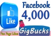 We will add 4,000+ likes for your Fan Page using Real Facebook Likes method. All likes are from real facebook users, not from fake accounts. You can check it yourself easily. Our service is legit and Safe.  Provide me your facebook page and you will see how your page will become very active.       (✔)   100% Safe      (✔)   Instant Start      (✔)   Permanent Likes      (✔)   Non-Drop ( 98% Likes will Stay Permanent )      (✔)   Improve visibility  ✔✔ORDER NOW ✔✔★