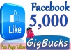 We will add 5,000+ likes for your Fan Page using Real Facebook Likes method. All likes are from real facebook users, not from fake accounts. You can check it yourself easily. Our service is legit and Safe.  Provide me your facebook page and you will see how your page will become very active.       (✔)   100% Safe      (✔)   Instant Start      (✔)   Permanent Likes      (✔)   Non-Drop ( 98% Likes will Stay Permanent )      (✔)   Improve visibility  ✔✔ORDER NOW ✔✔★