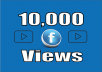 add You Real Fast 10,000+ facebook video views