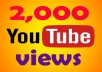 Add 2000+ YouTube Unique Views l uHR ★ Monetizable