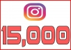 provide you 15,000+ Instant Instagram Followers