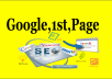 Top Up Google Rank 1st Page your Website
