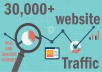 send 30,000+ keyword targeted traffic from google