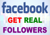 Generate Real Genuine facebook followers