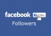 provide 1000 facebook Followers, real and safe for your account.