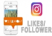 I will give you 5,000+ Instagram followers and 5,000 Instagram likes. Instagram followers and likes will be making your account popular.  100% FOLLOWERS and likes will have Profile Pictures! I can handle up to 100+ orders/day! Split are available! NO DROP, Guaranteed! They will be stay permanent! Fast and Cheap Service. 100% Safe and Trust-able. Fast Delivery , usually finish in less than 24 - 48 hours. Quick Customer Support.   100% SATISFACTION GUARANTEED!
