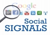 Give Top 5 Powerful Social Platform 3300 PR9 SEO Social Signals Share Bookmarks Important Google Ranking