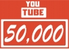 I will Give you 50,000 Youtube Views