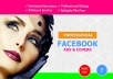 design professional facebook ads